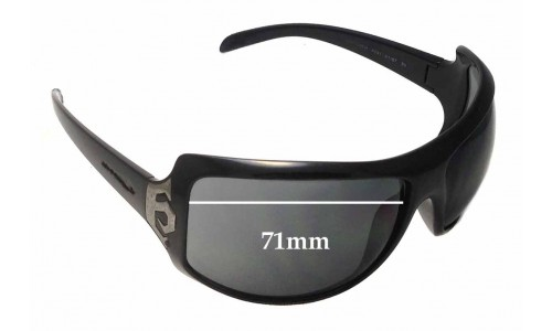 Arnette Undercover AN4091 Replacement Sunglass Lenses - 71mm