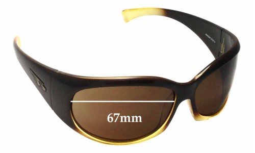 Arnette Untouchables AN4064 Replacement Sunglass Lenses - 67mm wide