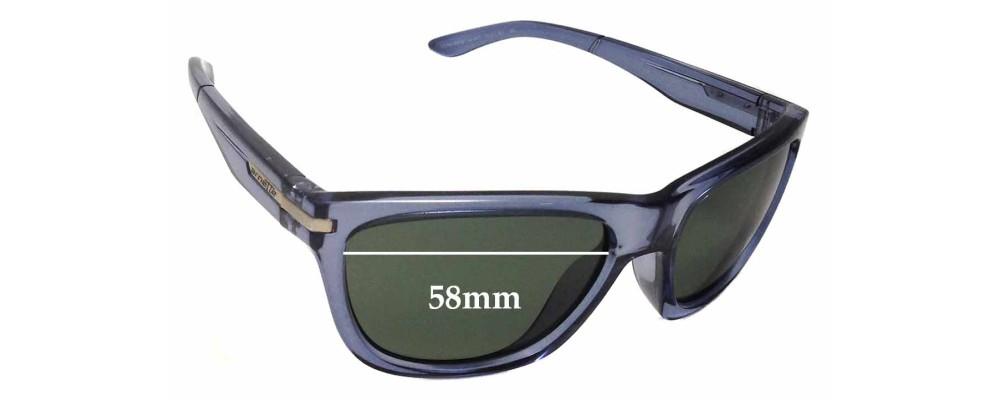 Arnette Venkman AN4141 Replacement Sunglass Lenses - 58mm Wide