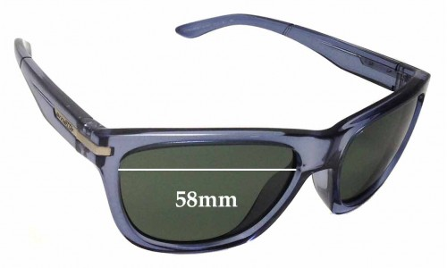 Arnette Venkman AN4141 Replacement Sunglass Lenses - 58mm Wide