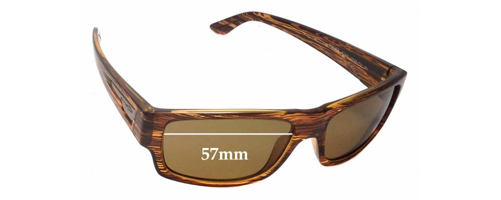 Arnette Wager AN4144 Replacement Sunglass Lenses - 57mm Wide