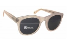 Bally BY2045 Replacement Sunglass Lenses - 50mm wide