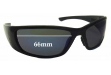 Bandit Hijack Replacement Sunglass Lenses - 66mm wide