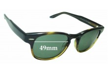 Sunglass Fix Replacement Lenses for Barton Perreira Dempsey - 49mm Wide
