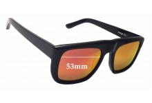 Bassike Page 26.1 Replacement Sunglass Lenses - 53mm Wide