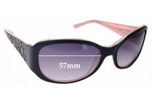 Bebe Dazzler BB7058 Replacement Sunglass Lenses - 57mm wide