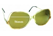 Sunglass Fix Replacement Lenses for BerDel Erica - 56mm wide