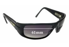 Bill Bass 29732 Replacement Sunglass Lenses - 61mm Wide