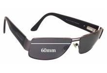 Bill Bass Baxter 25370 Replacement Sunglass Lenses - 60mm wide