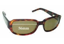 Bill Bass Rumba Replacement Sunglass Lenses - 56mm wide