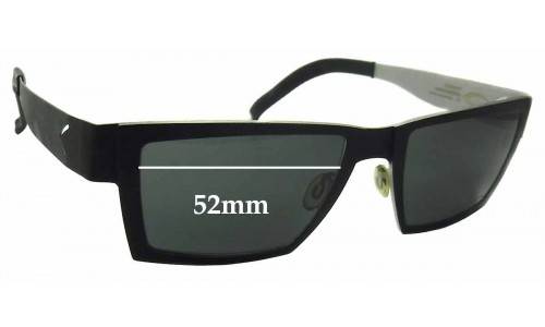 Blackfin BF575 Replacement Sunglass Lenses - 52mm wide