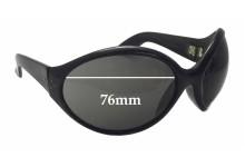 cf2e710227 Sunglass Fix Replacement Lenses for Blinde Double Bubbles - 76mm wide