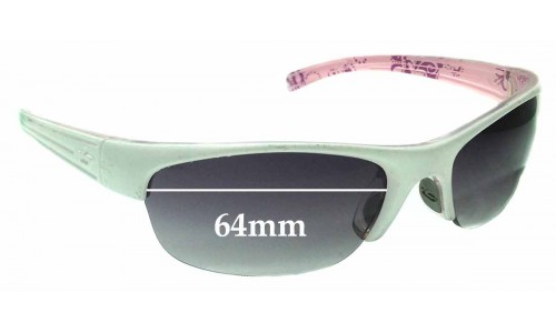 Sunglass Fix Replacement Lenses for Bolle Aero - 64mm Wide