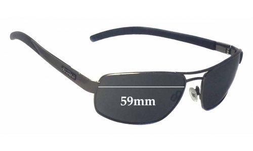 Bolle Bounce Replacement Sunglass Lenses 59mm wide