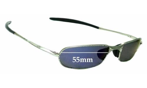 Sunglass Fix Replacement Lenses for Bolle Heatseeker 55mm wide
