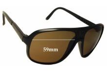 f0a5812d9b Bolle IREX 100 4 Replacement Sunglass Lenses - 59mm wide x 51mm tall