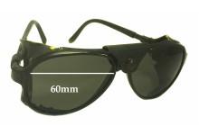 7d443493d8a Bolle IREX 100 Replacement Sunglass Lenses - 60mm wide x 51mm high