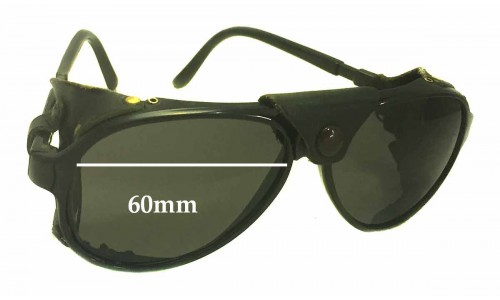 Bolle IREX 100 Replacement Sunglass Lenses - 60mm wide x 51mm high