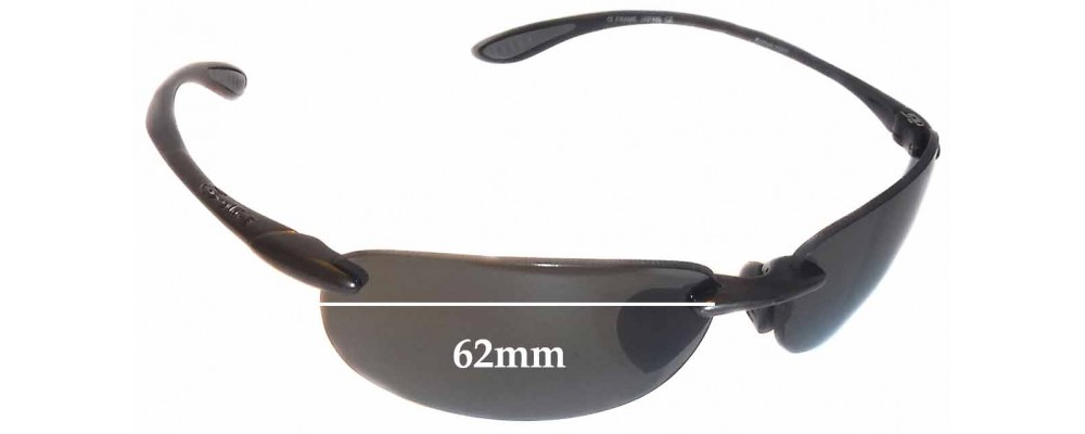Kickback Lenses Replacement Fix 62mm Sunglass For Bolle Wide ym8wO0vPNn