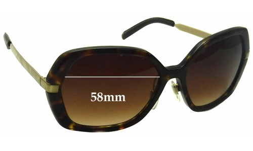 Burberry B 4153-Q Replacement Sunglass Lenses - 58mm Wide
