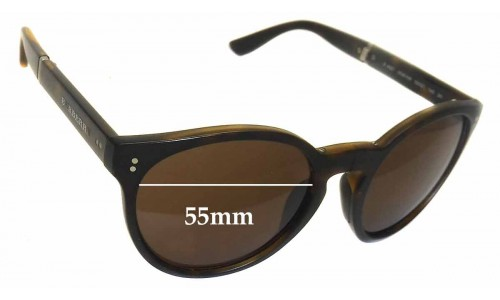 Burberry B 4221 Replacement Sunglass Lenses - 55mm wide