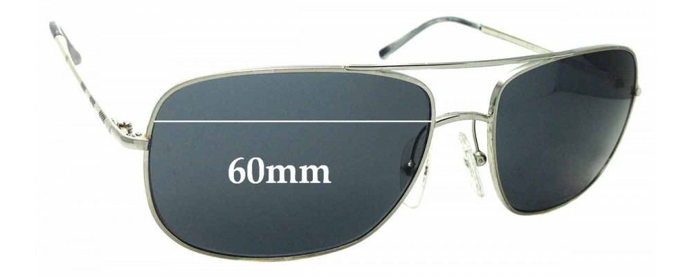 d0336d9df5ef Burberry B 3077Replacement Lenses 58mm Wide by The Sunglass Fix™