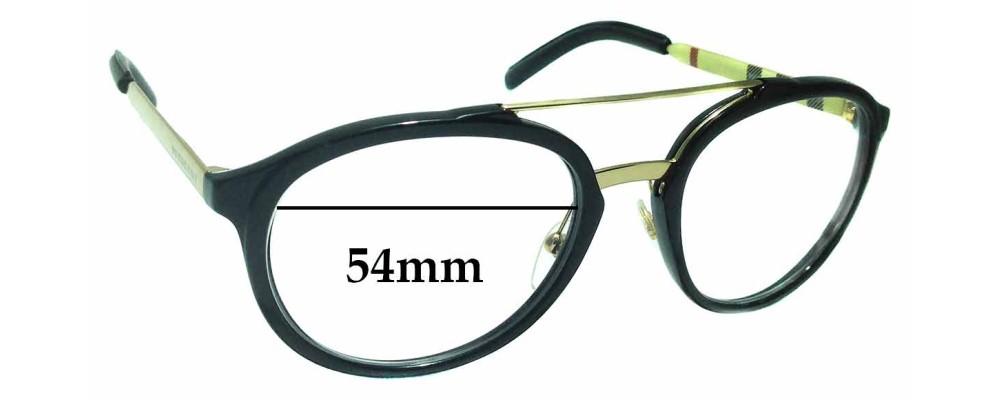 f1de2143b6 Sunglass Fix Replacement Lenses for Burberry B 4168-Q - 54mm Wide ...