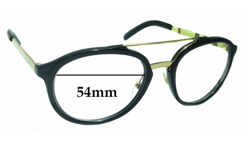 Sunglass Fix Replacement Lenses for Burberry B 4168-Q - 54mm Wide