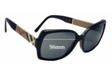 Burberry B 4160 Replacement Sunglass Lenses - 58mm Wide
