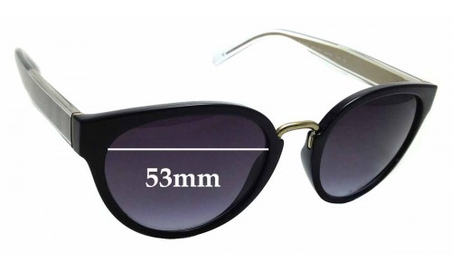 Sunglass Fix Replacement Lenses for Burberry BE4249 - 53mm Wide