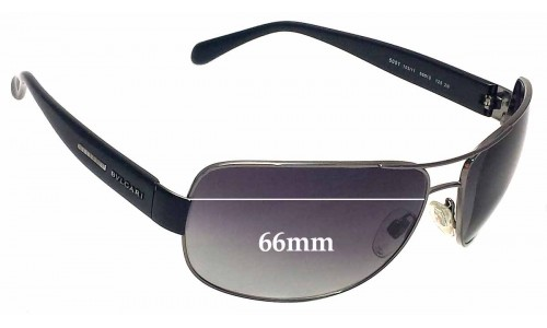 Bvlgari 5001 Replacement Sunglass Lenses 66mm wide
