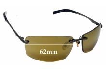 Callaway C430 GN Replacement Sunglass Lenses - 62mm wide