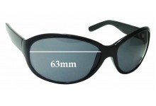 Calvin Klein CK3054S Replacement Sunglass Lenses - 63mm wide