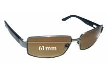 Caribbean Sun CS0035M Replacement Sunglass Lenses - 61mm wide