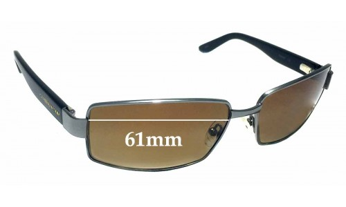 Caribbean Sun CS0035M Replacement Sunglass Lenses - 61mm wide