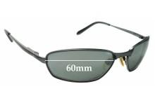 Sunglass Fix Replacement Lenses for Caribbean Sun CS030M - 60mm wide
