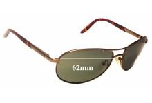 Caribbean Sun CS0043M Replacement Sunglass Lenses - 62mm wide