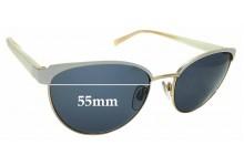 Sunglass Fix Replacement Lenses for Carla Zampatti Sun Rx 05 - 55mm Wide
