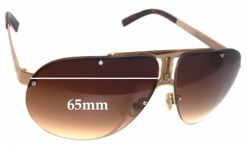 Carrera 34 Replacement Sunglass Lenses 65mm wide