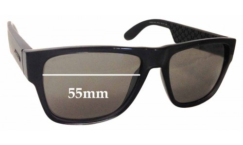 Carrera 5002 Replacement Sunglass Lenses - 55mm Wide