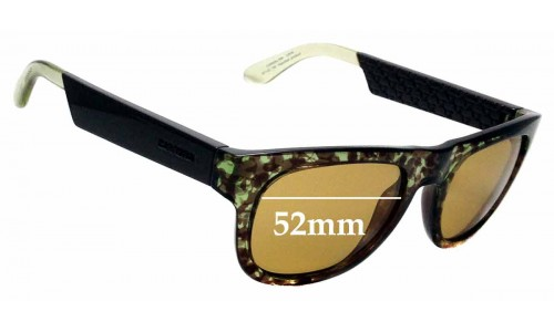 Sunglass Fix Replacement Lenses for Carrera 5006 - 52mm wide