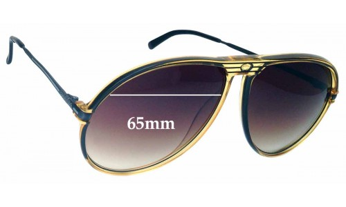Carrera 5586 Replacement Sunglass Lenses 65mm wide