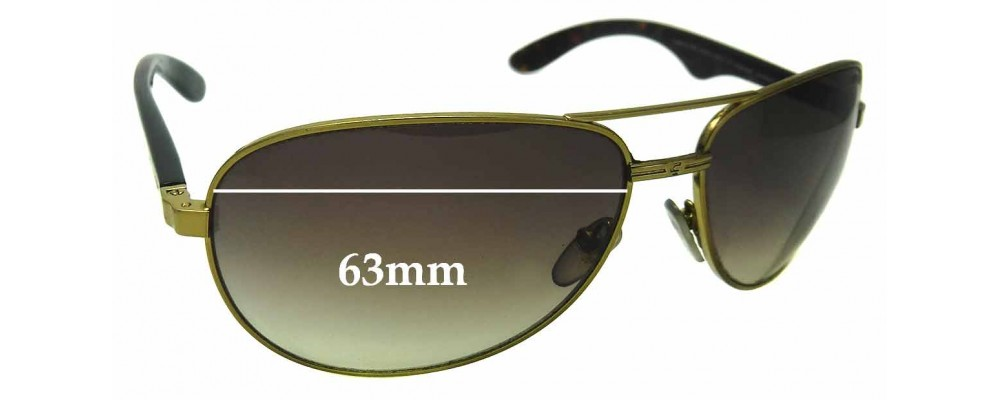 d4fdfbb4cfa4 Carrera 6006 Replacement Lenses 66mm by The Sunglass Fix™