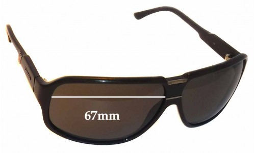 Carrera Replacement Sunglass Lenses - 67mm wide