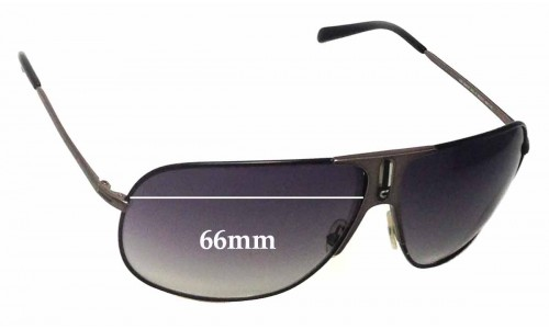 Carrera 80s -5 RZZIC Replacement Sunglass Lenses - 66mm wide
