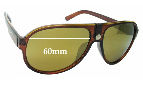 Sunglass Fix Replacement Lenses for Carrera K137 - 60mm wide
