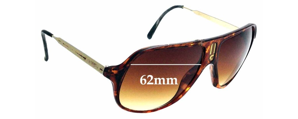 4f751fe21410 Carrera New ChampionReplacement Lenses 66mm Wide by The Sunglass Fix™