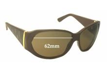 Cartier T8200657 Replacement Sunglass Lenses - 62mm wide