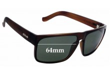 Sunglass Fix New Replacement Lenses for Carve Vendetta -  64mm Wide