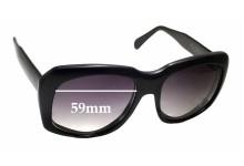 Caviar Ultra Goliath Replacement Sunglass Lenses - 59mm wide - 52.5mm tall